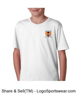 Pawling SC Anvil Youth 100% Ringspun Cotton Fashion Fit Tee Design Zoom